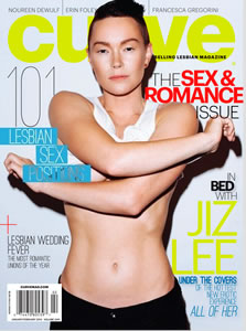 Curve Magazine Jan/Feb 2014 Jiz Lee