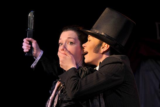 Jiz Lee Stoya Jack the Ripper Dr Sketchys