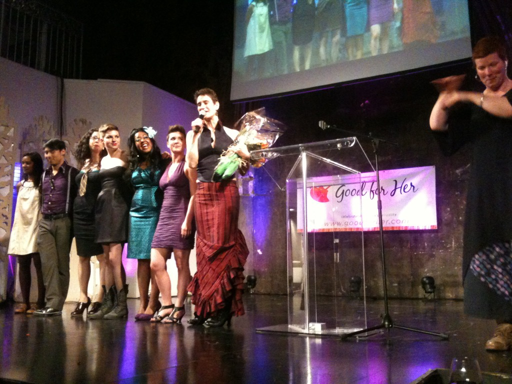 @goodforher's hot and hardworking staff & volunteers! #FPA2012
