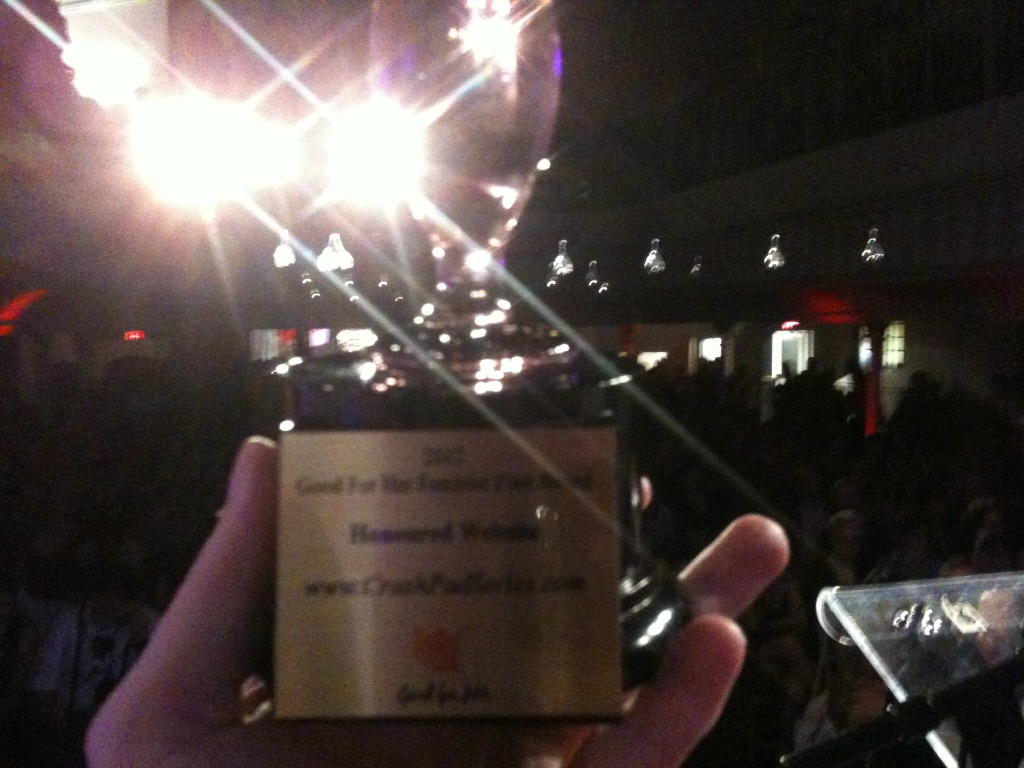 Congrats to all the models and crew, and members and supporters of @ShineLouise for @CrashPadSeries! #FPA2012