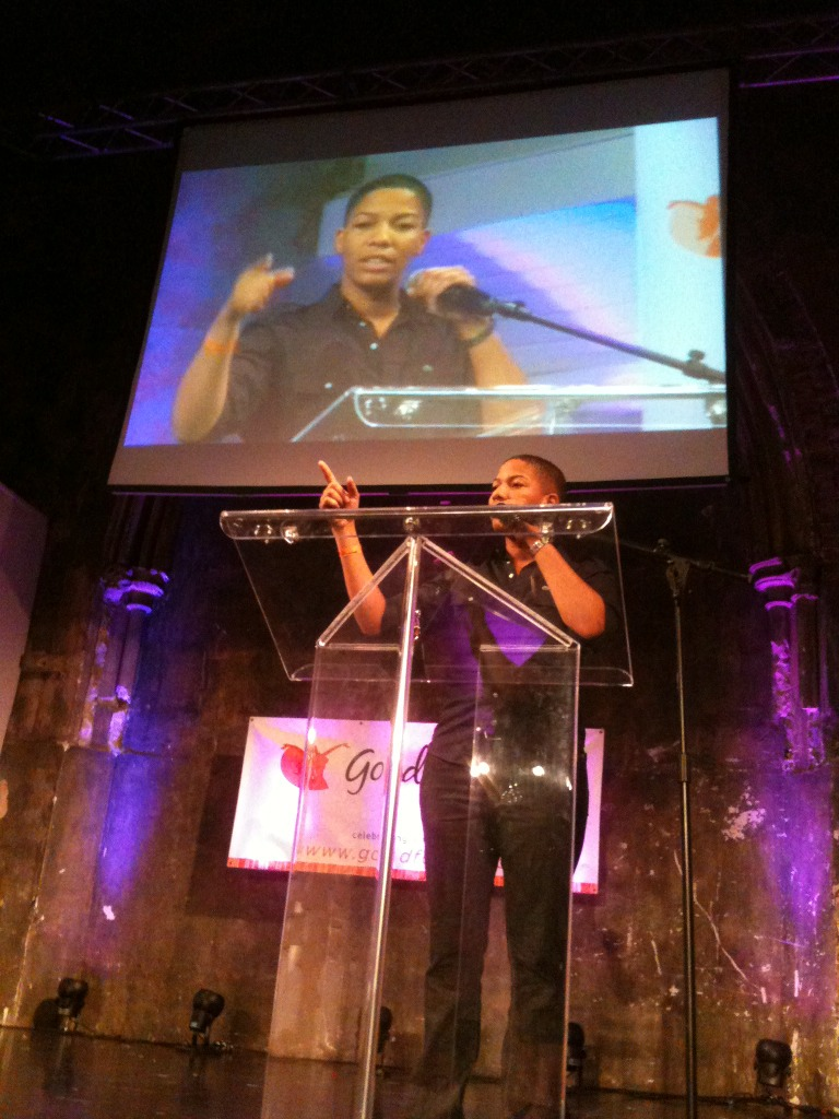 "Hella LOVE to @Feelmore510's ""Hella Brown"" for Best Dyke Sex Film!!! #FPA2012"